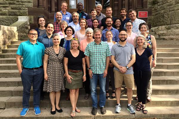 Coral bleaching research coordinator network workshop group