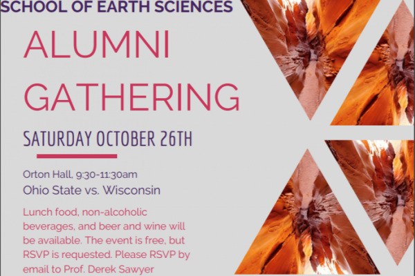Alumni Gathering Event Flyer