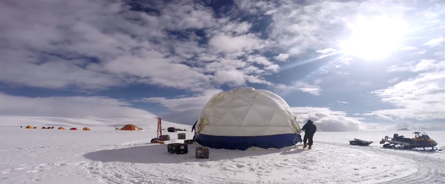 OSU-led team recovers oldest ice core outside the poles