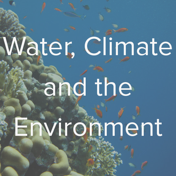 Water, Climate, and the Environment